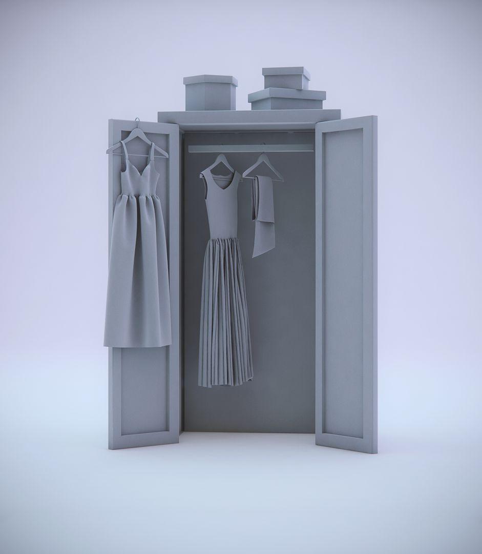 Fabric Modeling Closet Render jpg