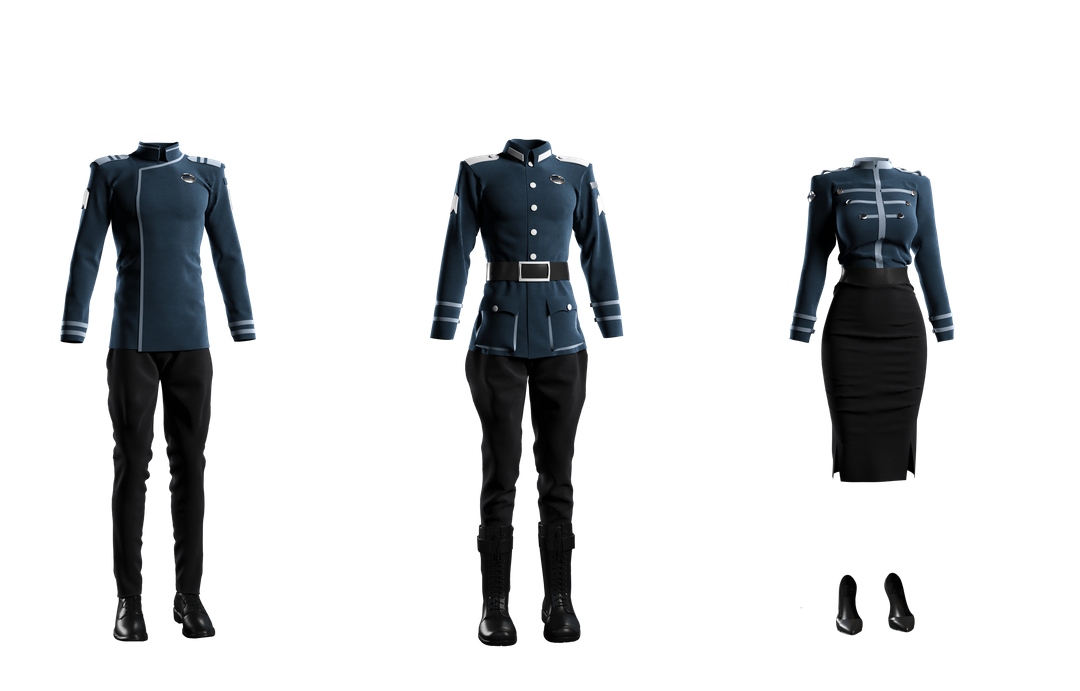 Fabric Modeling Outfits png