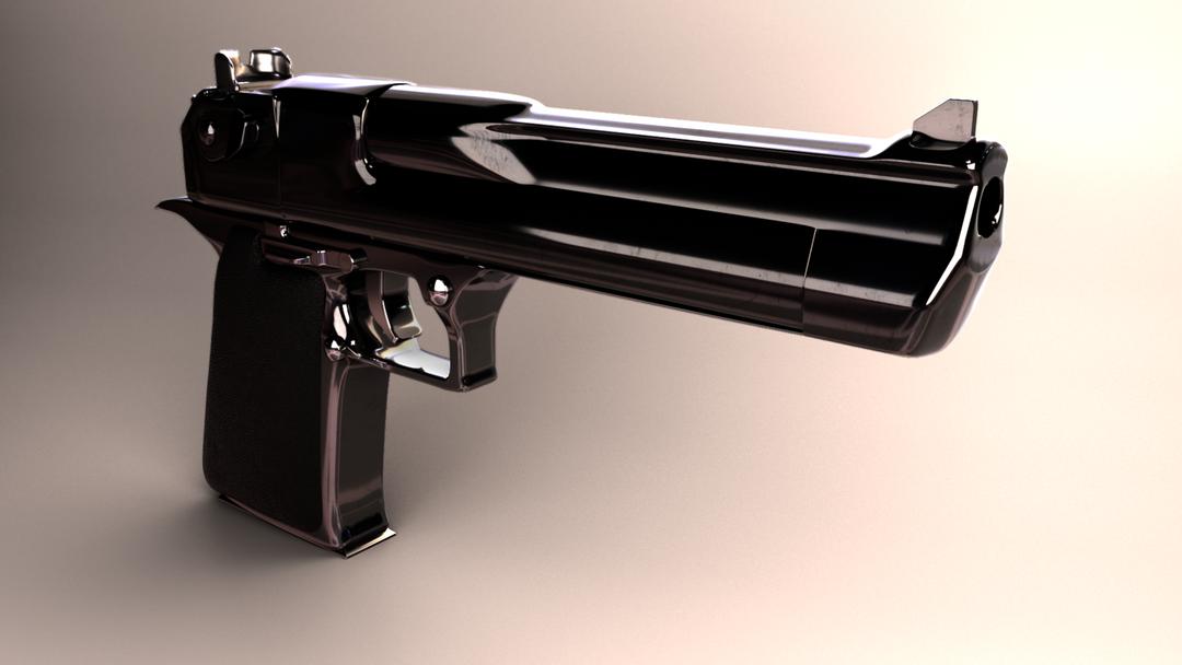 Generalist 3D pistola png