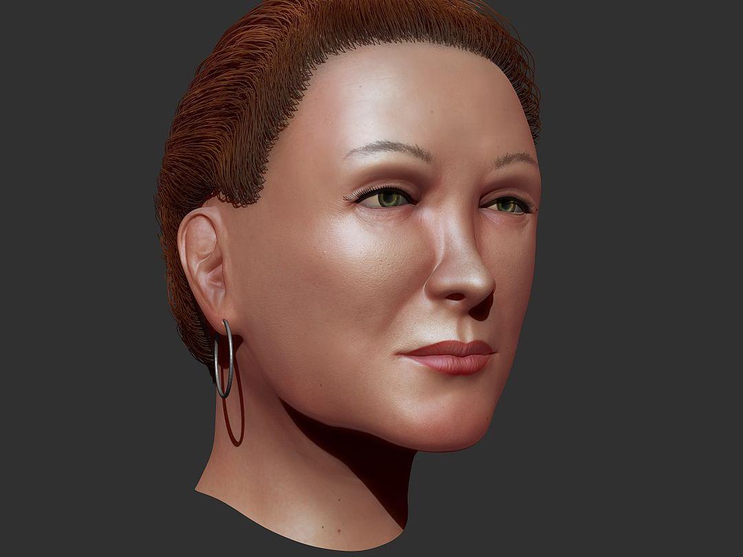 Organic Sculpting and Modeling Fem04 jpg