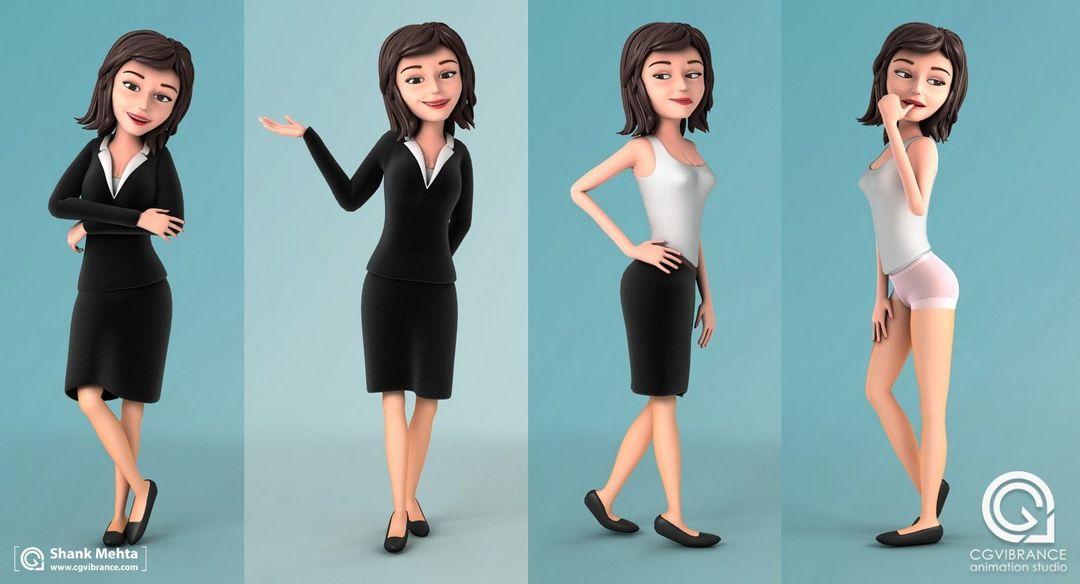 Stylized Characters Jill Promo jpg