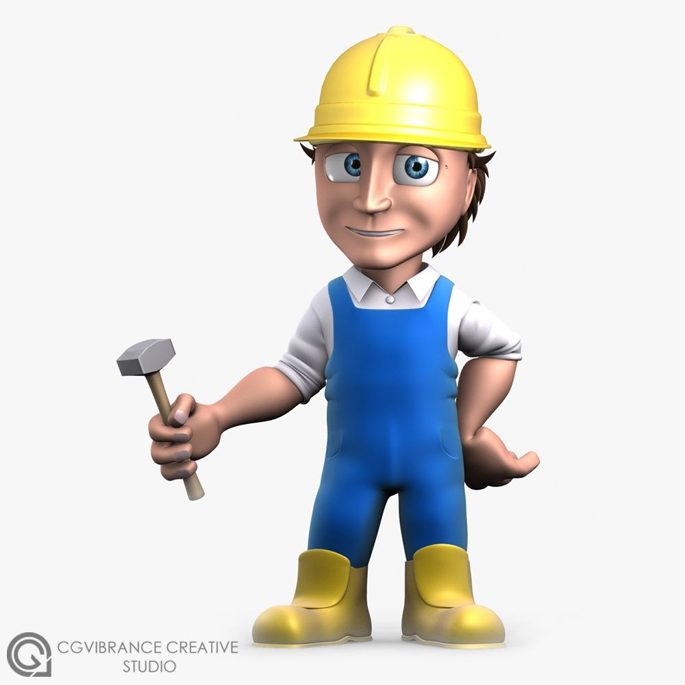 More Stylized Characters Carpenter jpg
