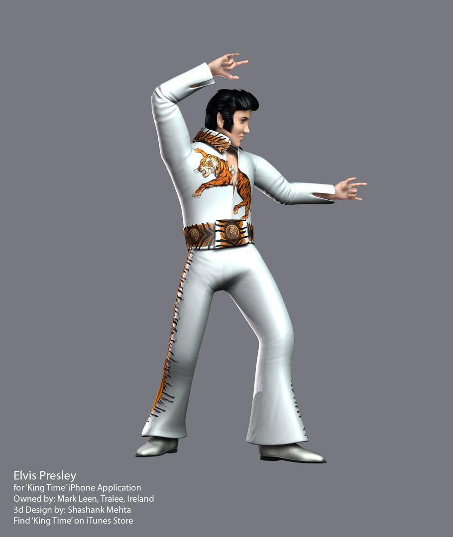 Elvis Presley 3d model TigerHD jpg