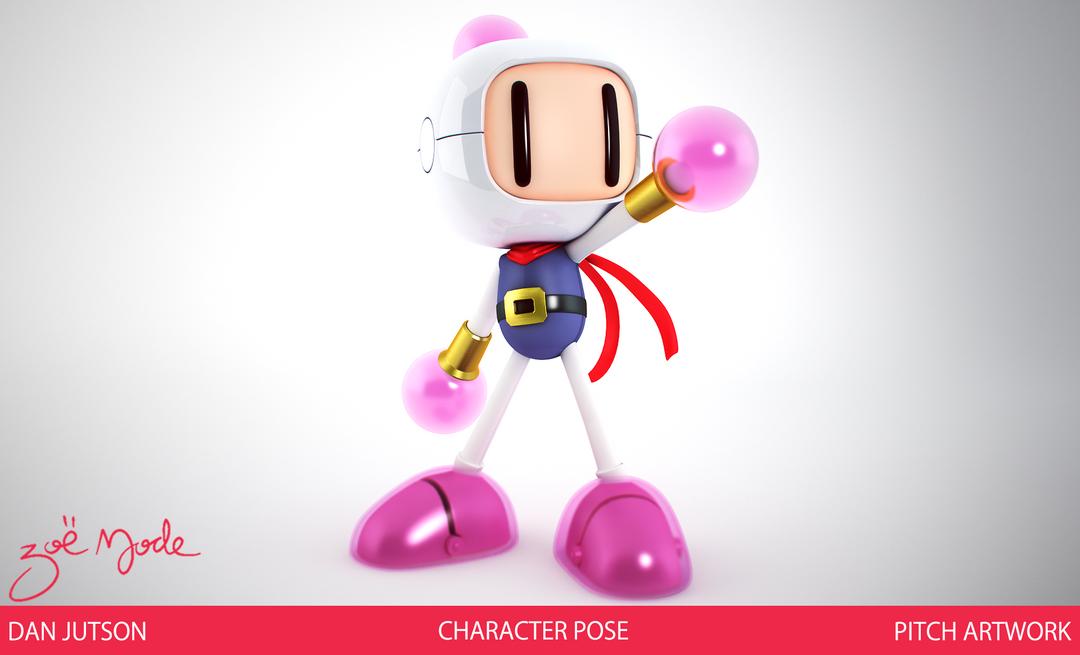 Bomberman character1 png
