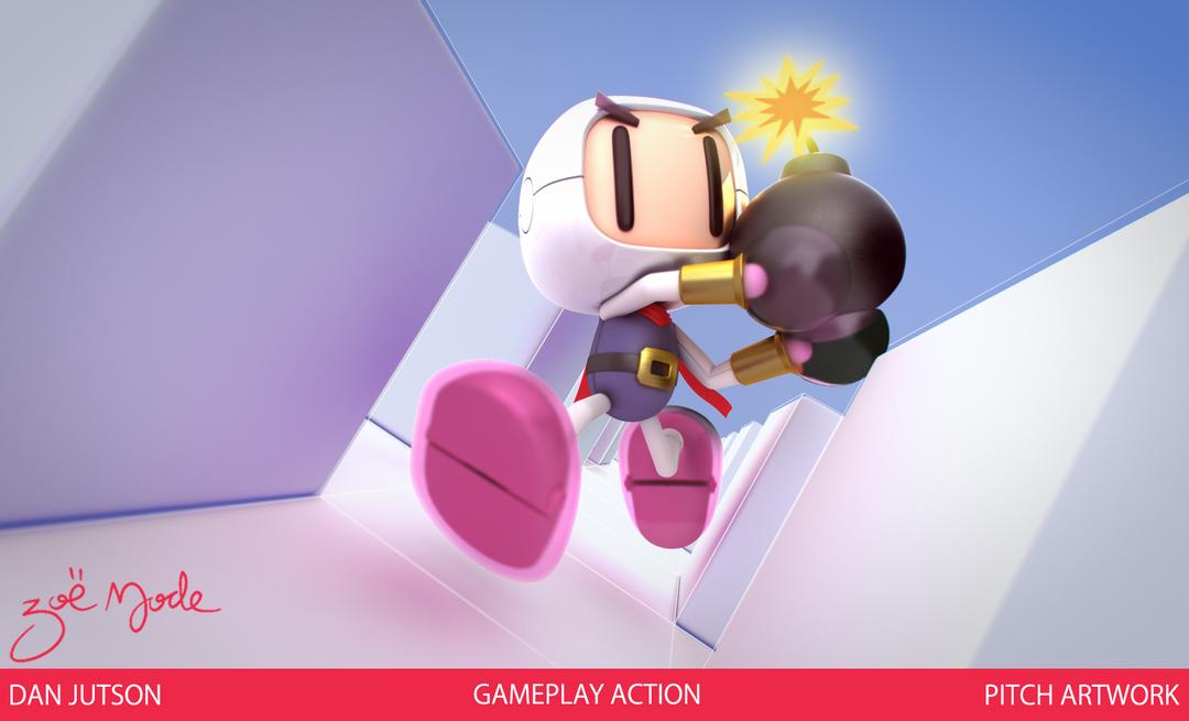 Bomberman gameplay03 png