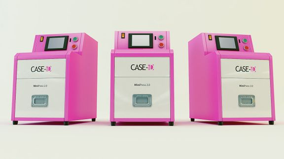 Case ID - Photographic Printer Technical Renders