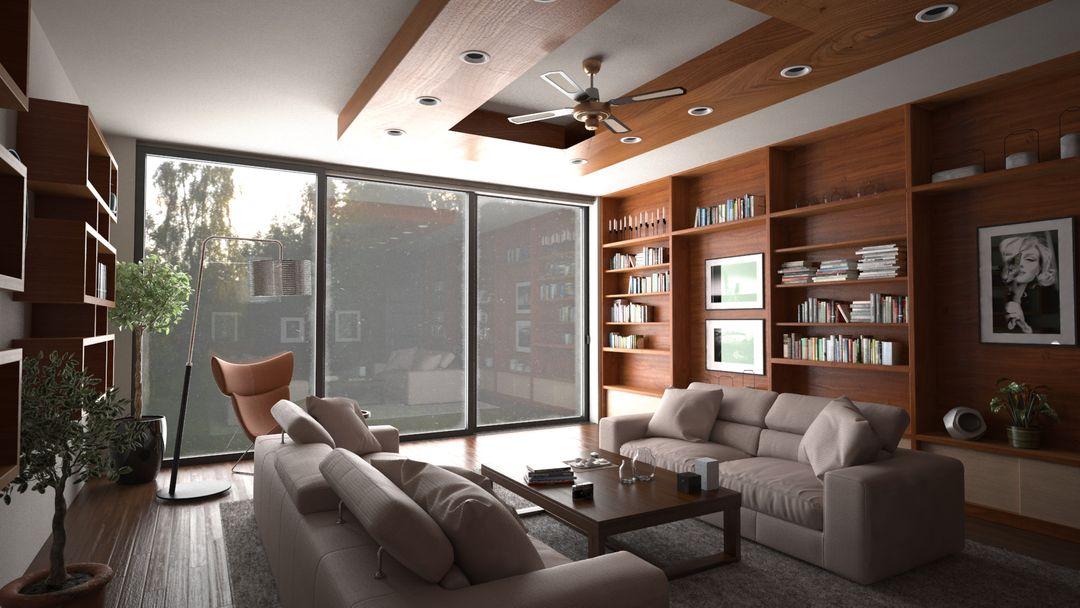 Architectural Visualization Interiors Interior 01 jpg
