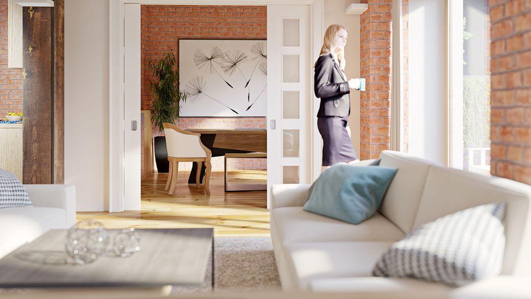 Interior renderings Salon biuro jpg