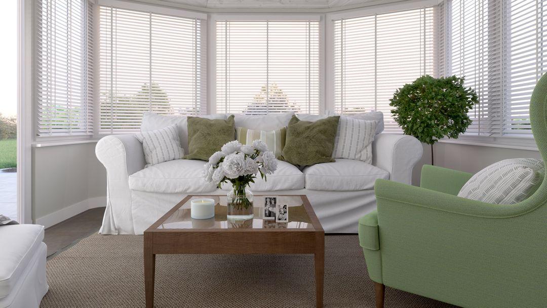 Interior renderings Sunny conservatory interior rendering jpg