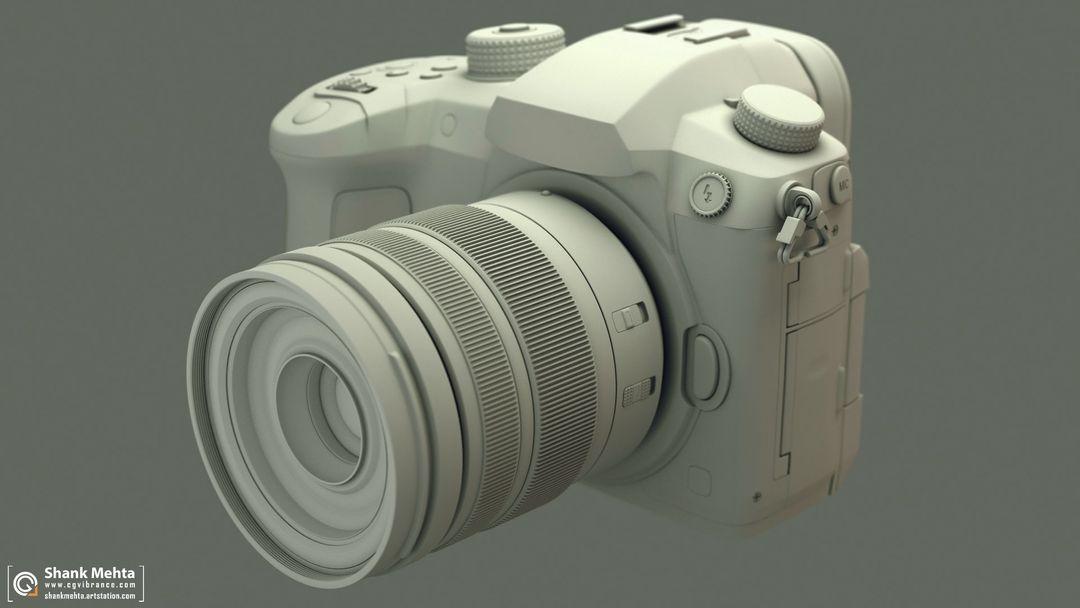 Panasonic Lumix GH5 3d Model Wire01 jpg
