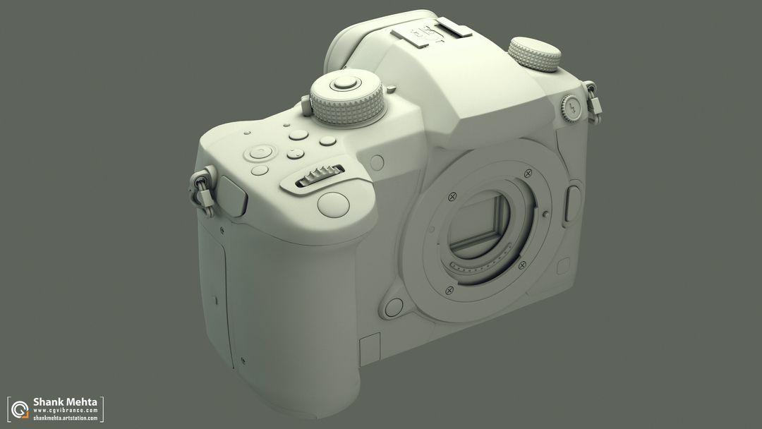 Panasonic Lumix GH5 3d Model Wire02 jpg