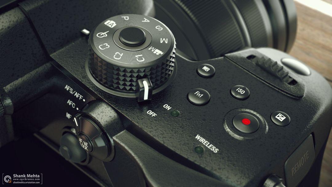 Panasonic Lumix GH5 3d Model r2 jpg
