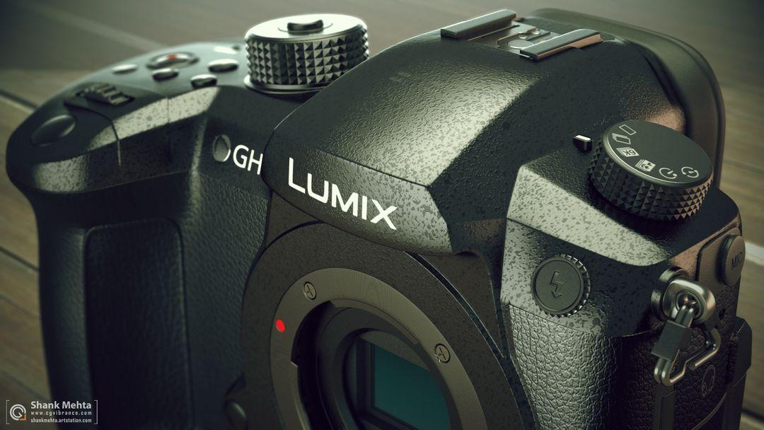 Panasonic Lumix GH5 3d Model r3 jpg