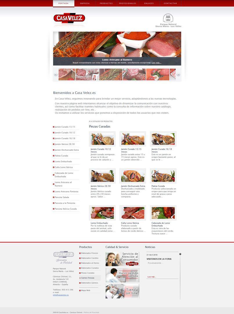 Web Design CasaVelez jpg