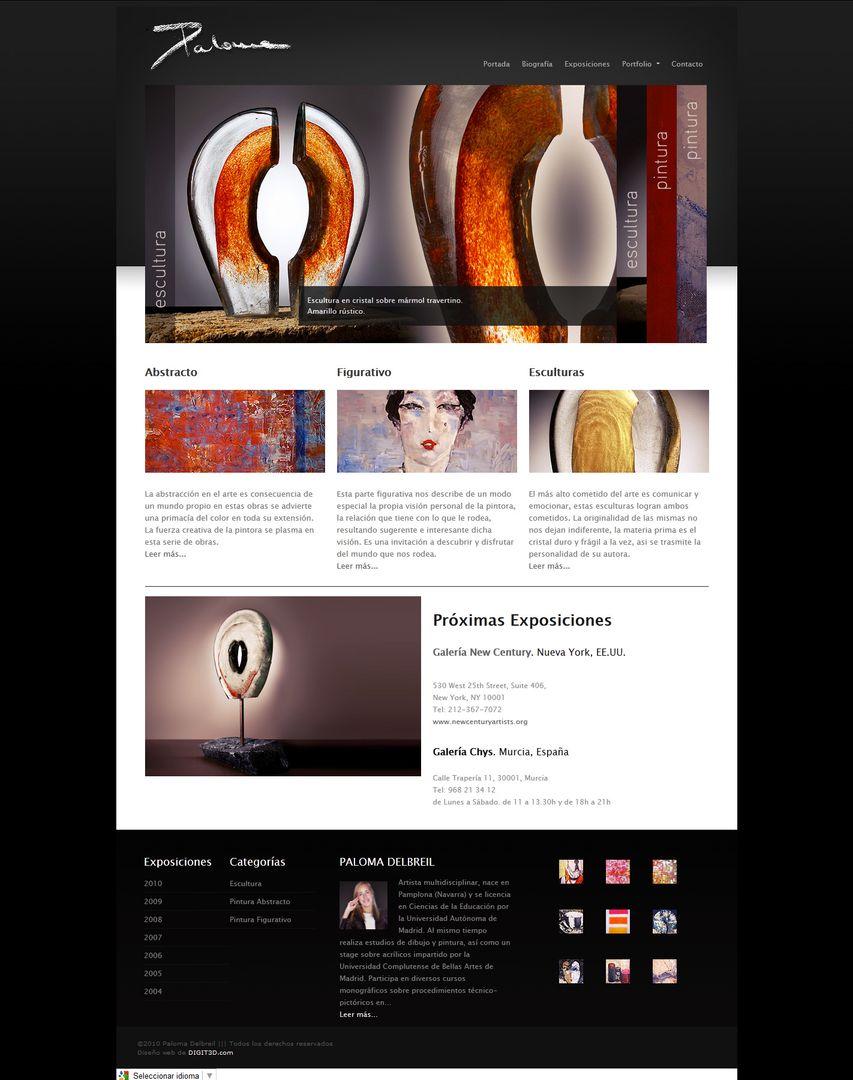 Web Design PalomaDelbreil jpg