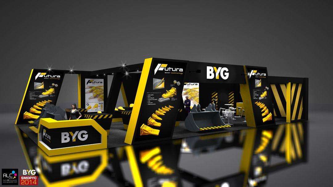 Stand designs Stand BYG Grupo ALC B01 jpg