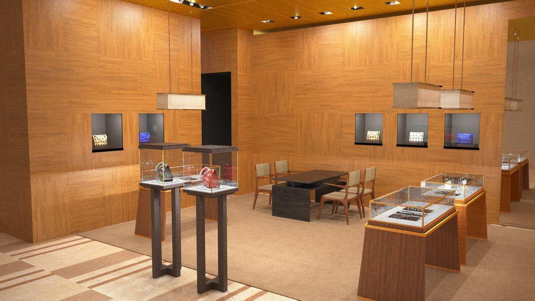 Fashion Store Interiors alejandro gasch kuhne store interiors02b jpg