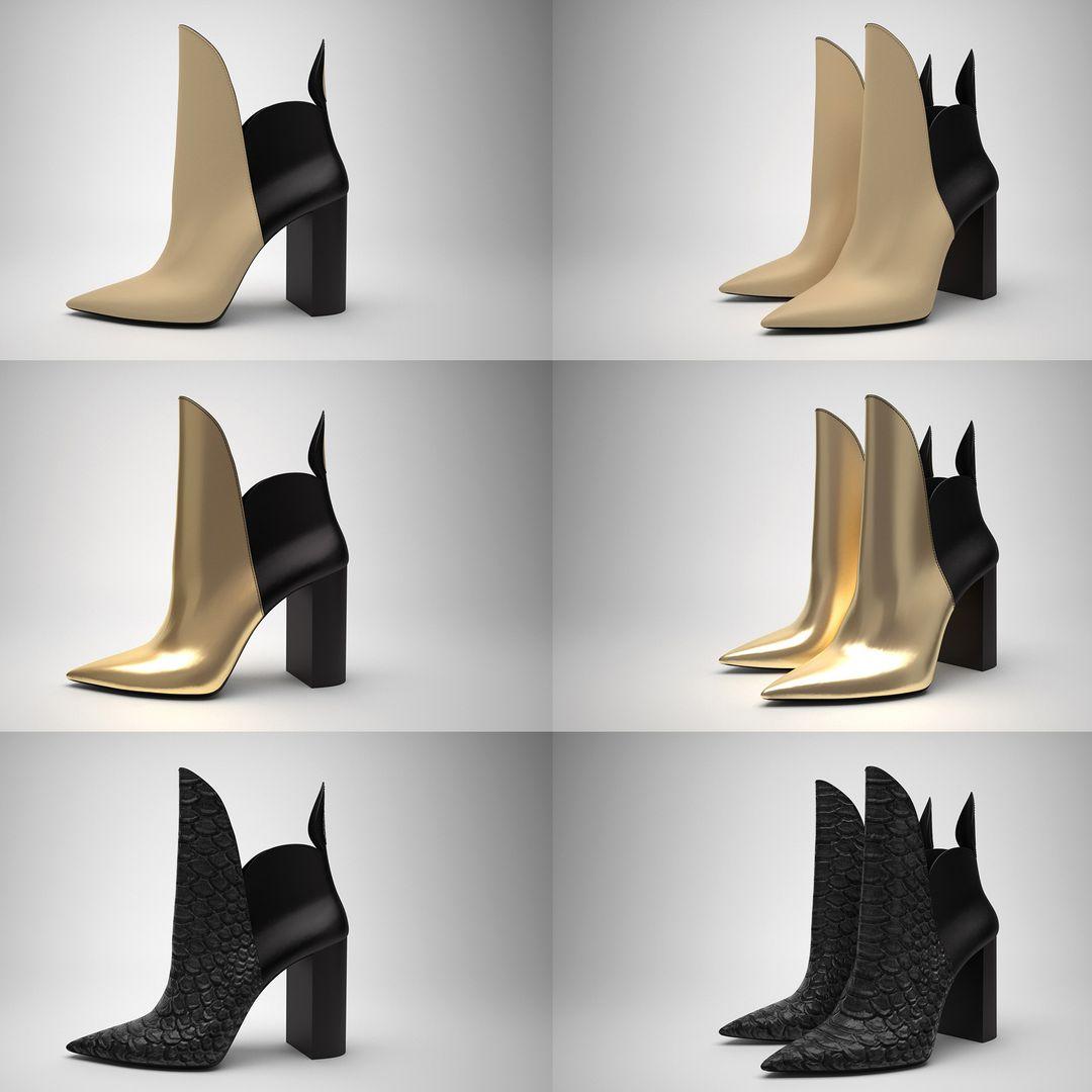 Footwear 3D 3D Shoes2323 DIGIT3D 001 jpg