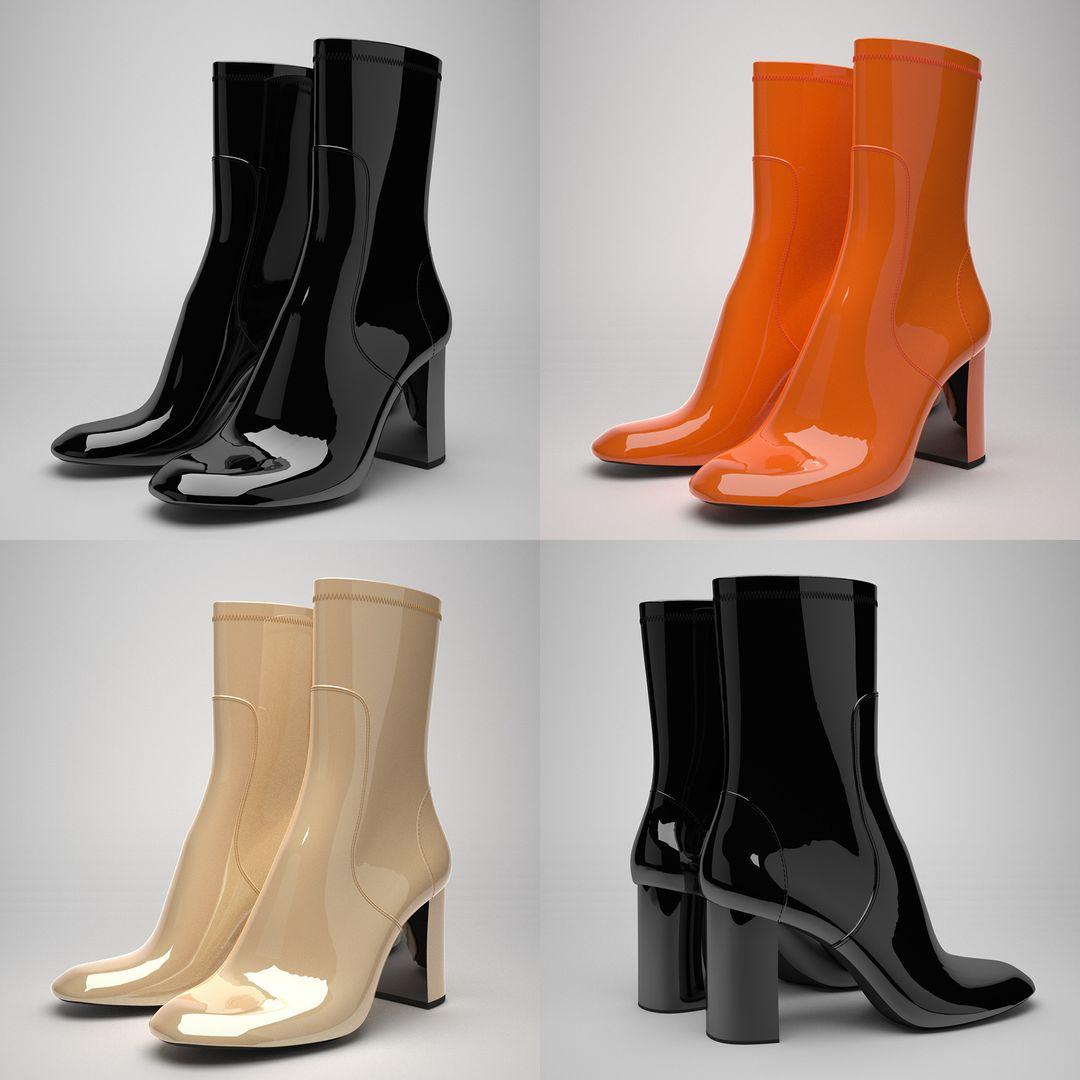 Footwear 3D alejandro gasch kuhne botines digit3d 923 jpg