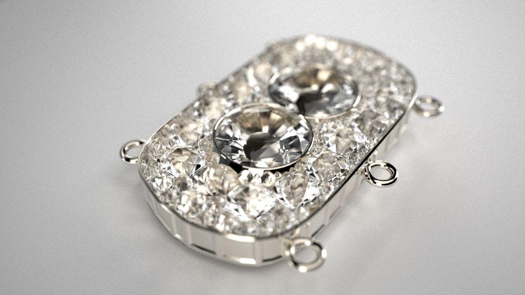 Jewellery 3D Necklace DIGIT3D 001 jpg