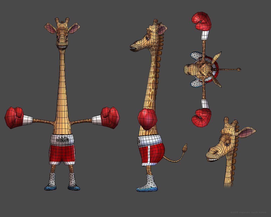 3D Character Geeraf 027 jpg