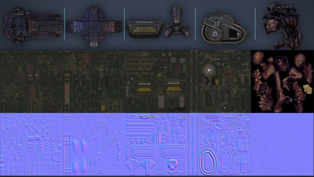 Infested Siege Tank Textures JPG jpg