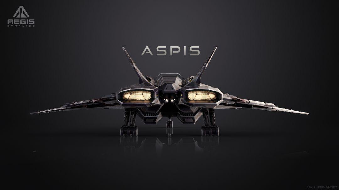 Aspis Single Seat Fighter Aspis Back 1 jpg