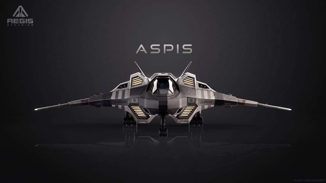 Aspis Single Seat Fighter Aspis Front 1 jpg