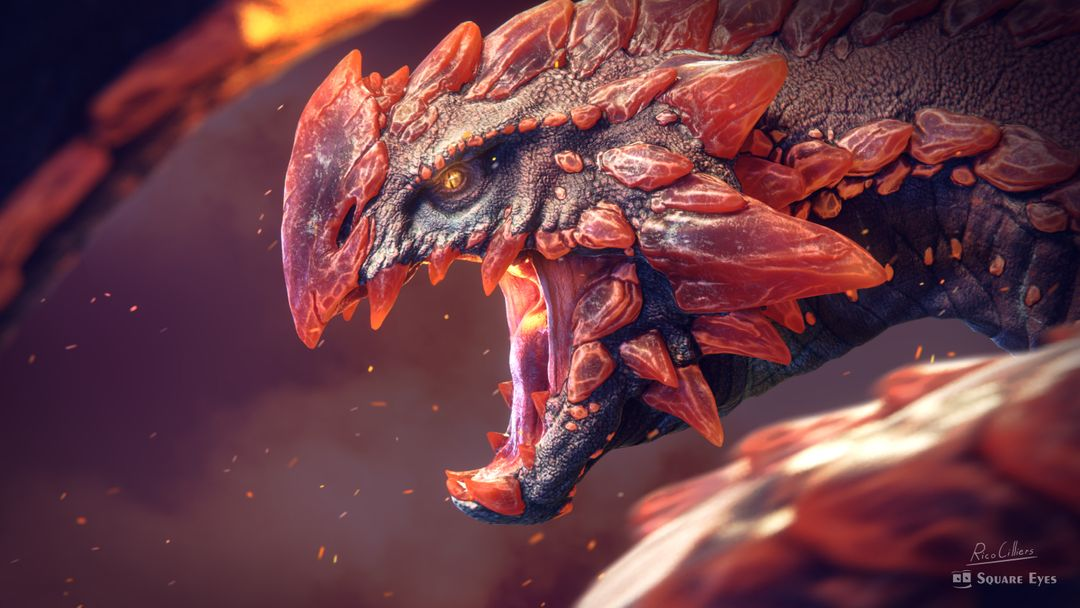 3D Character and Creature modeling 2016, 2017 Fire and Blood jpg