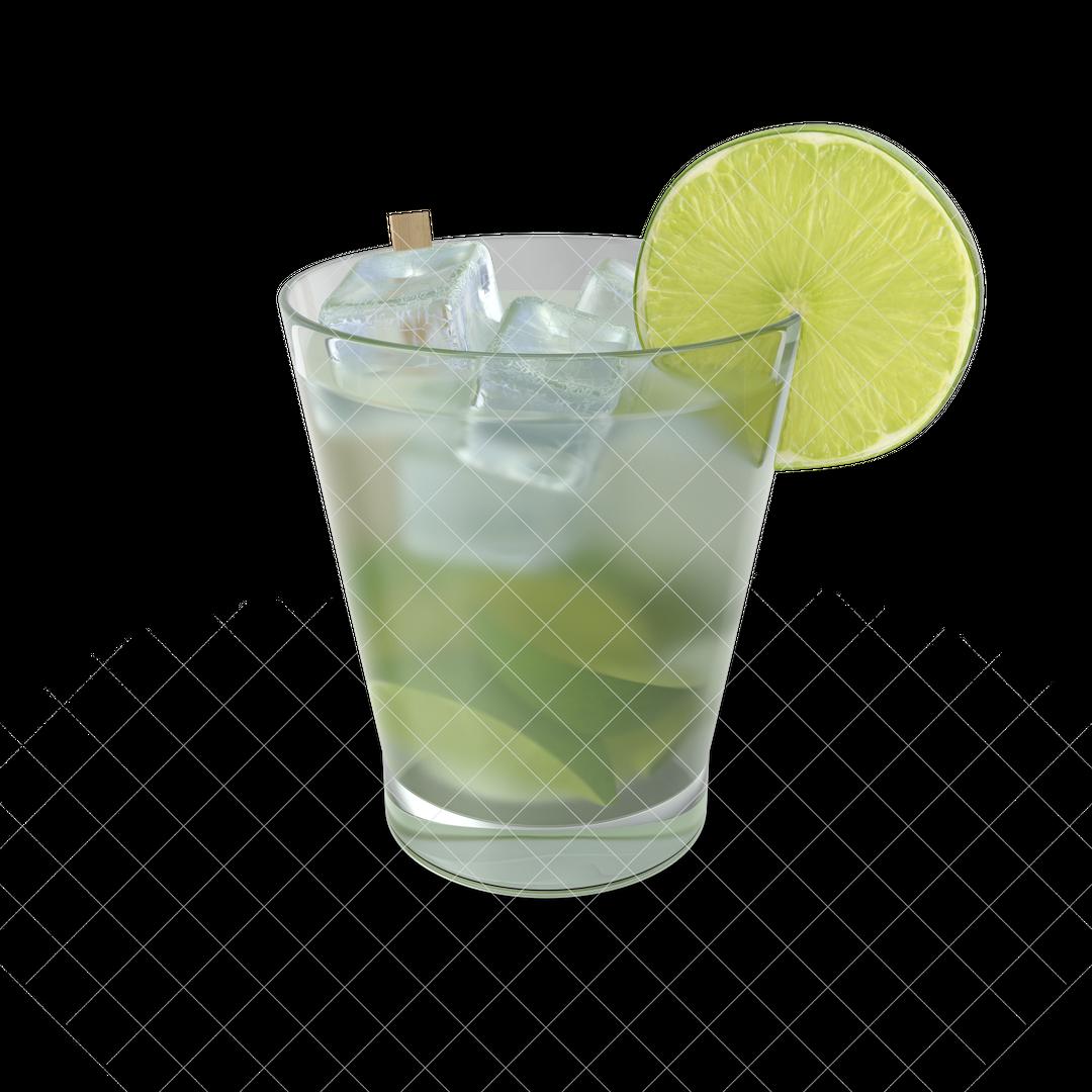 Photo Realistic 3d Models Cocktail20Caipirinha20Brazil G02 watermarked 2k png