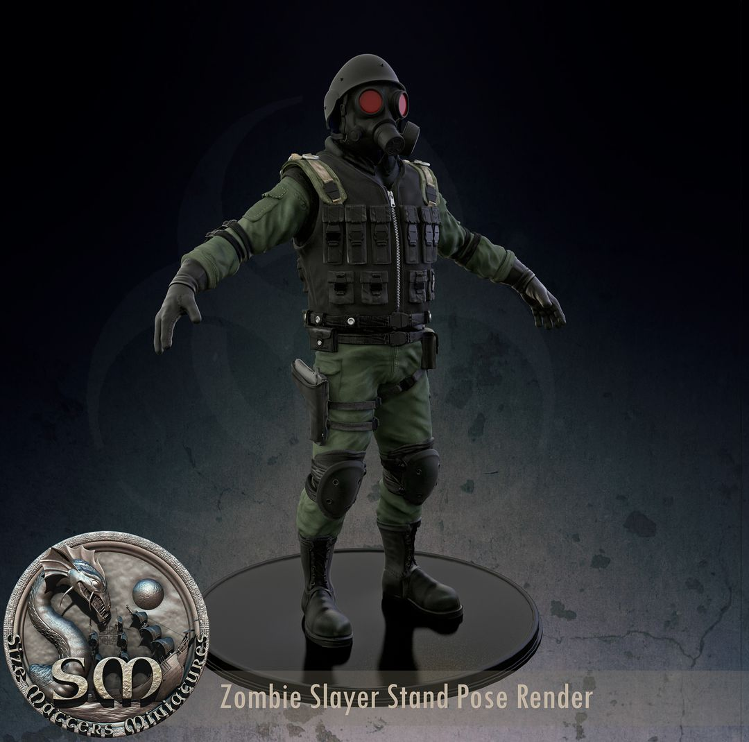 Zombie Slayer - High Poly character for 3d print 08132621189599 5630a90b866ef jpg