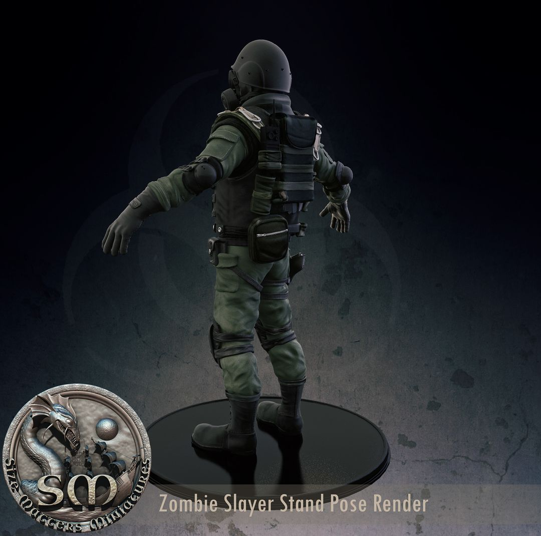 Zombie Slayer - High Poly character for 3d print e3f86221189599 5630a90b7a6f7 jpg