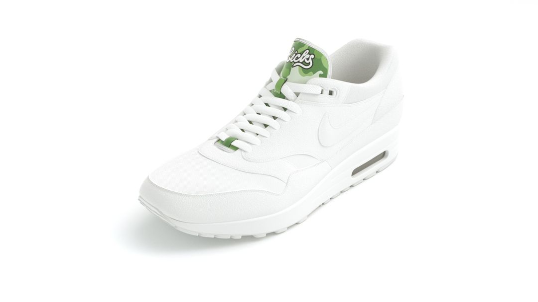 Configurable Footwear green camo jpg