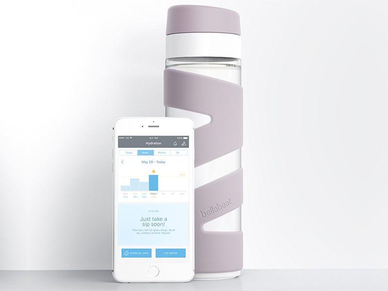 smart bottle product visualisation spring bottle with app jpg