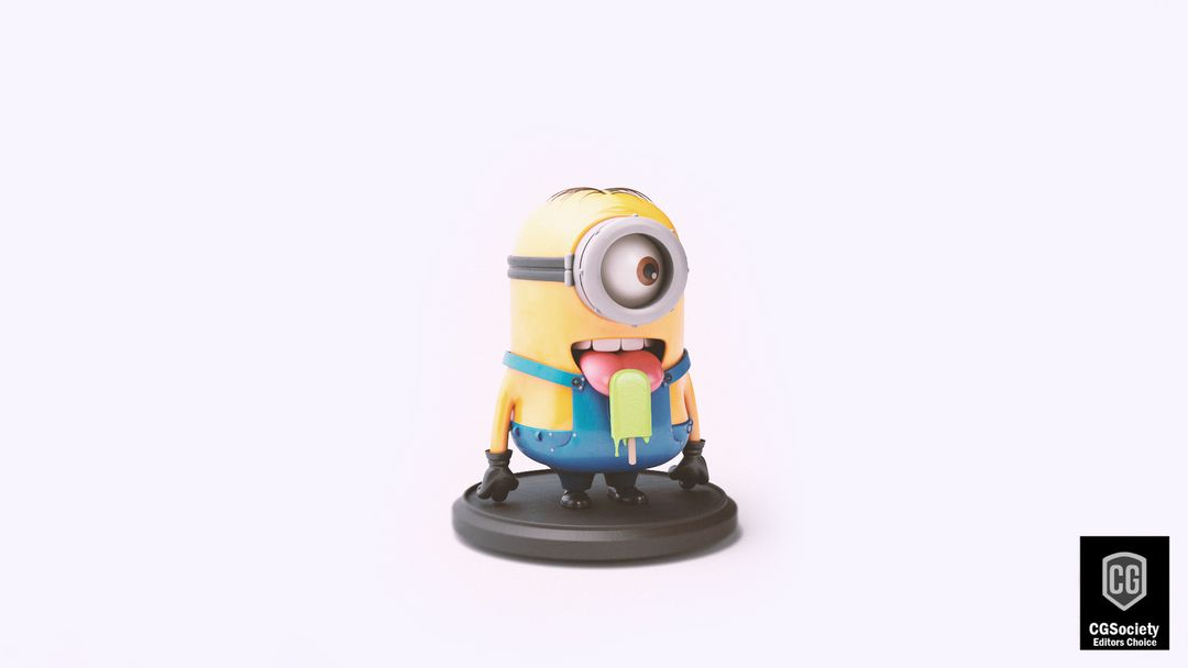 Vectron Toys - visualisations MINION TOY EDITED 2d editors choice low jpg