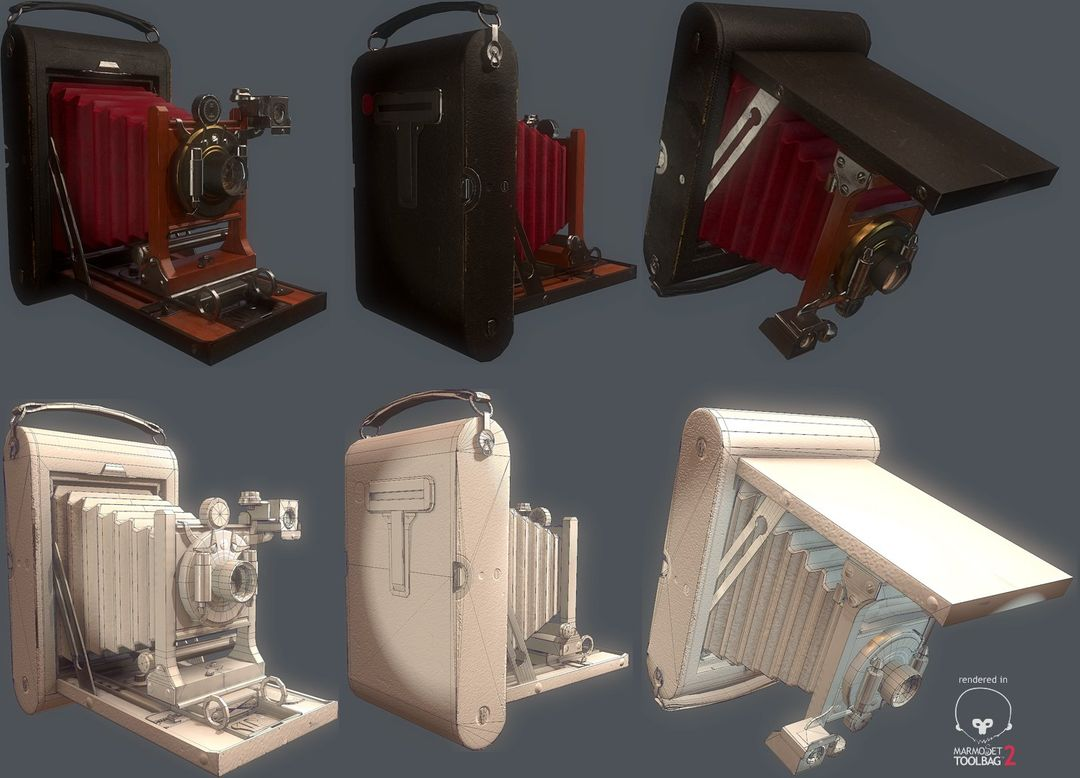 Game Modeling and Texturing morrissey alexander camera layout jpg