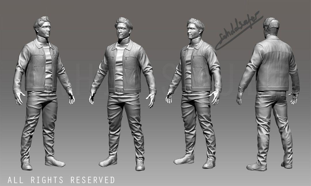 Unreal Engine Game Developer Jibrean Character Unseen jpg