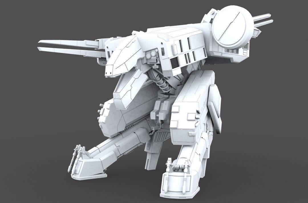 Unreal Engine Game Developer MGS Rex jpg