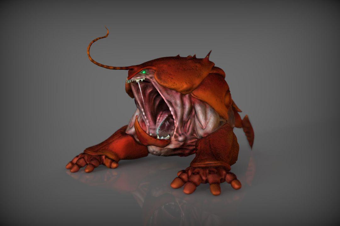 Character 3D Modeling steve rembuskos crab 01 jpg