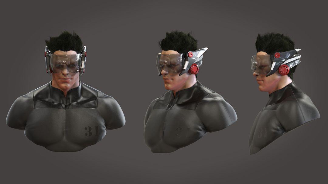 Character 3D Modeling steve www rembuskos com male hero 01 jpg