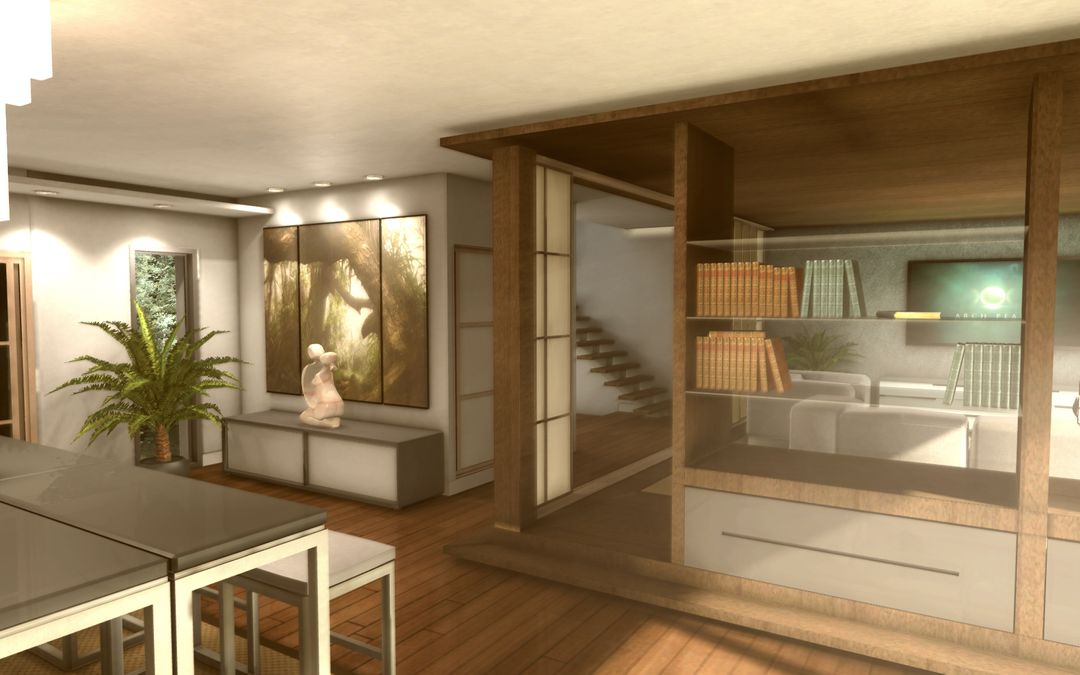 3D realtime architecture mobile application Appart01 jpg