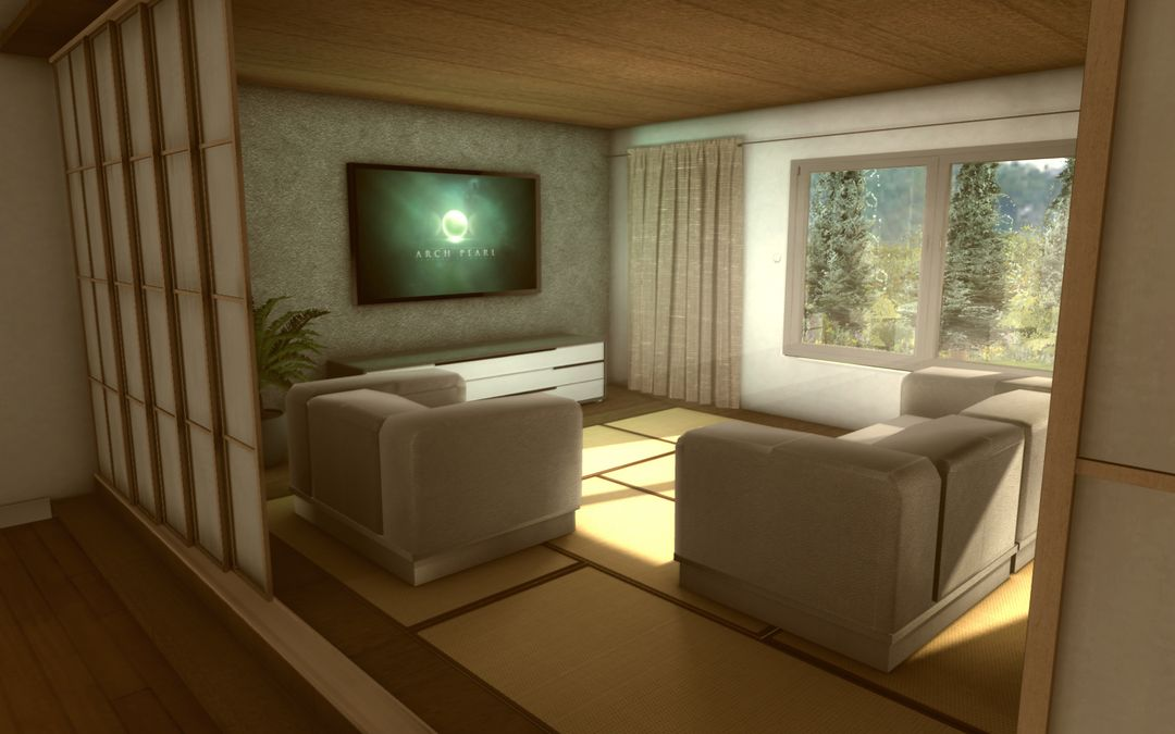 3D realtime architecture mobile application Appart02 jpg