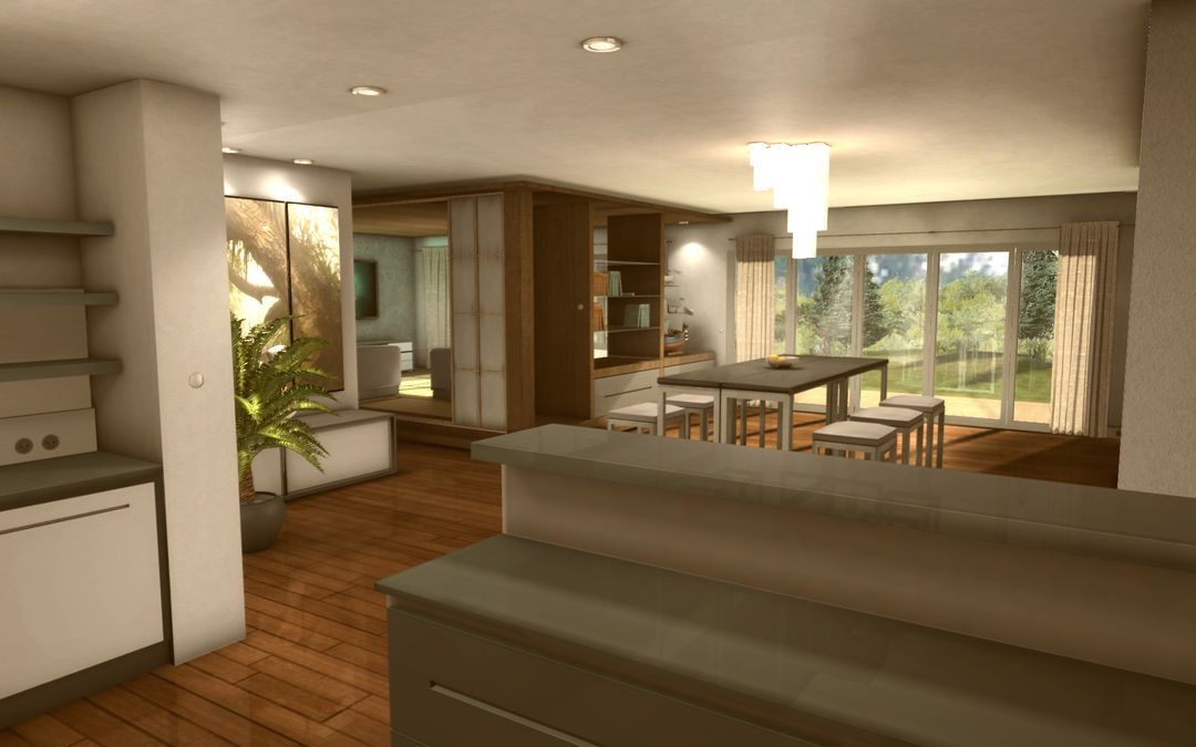 3D realtime architecture mobile application Appart04 jpg