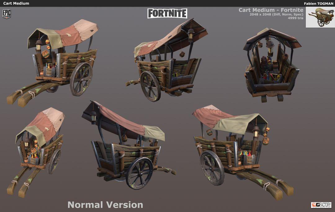 Fortnite Epic Fortnite CartMedium01 jpg