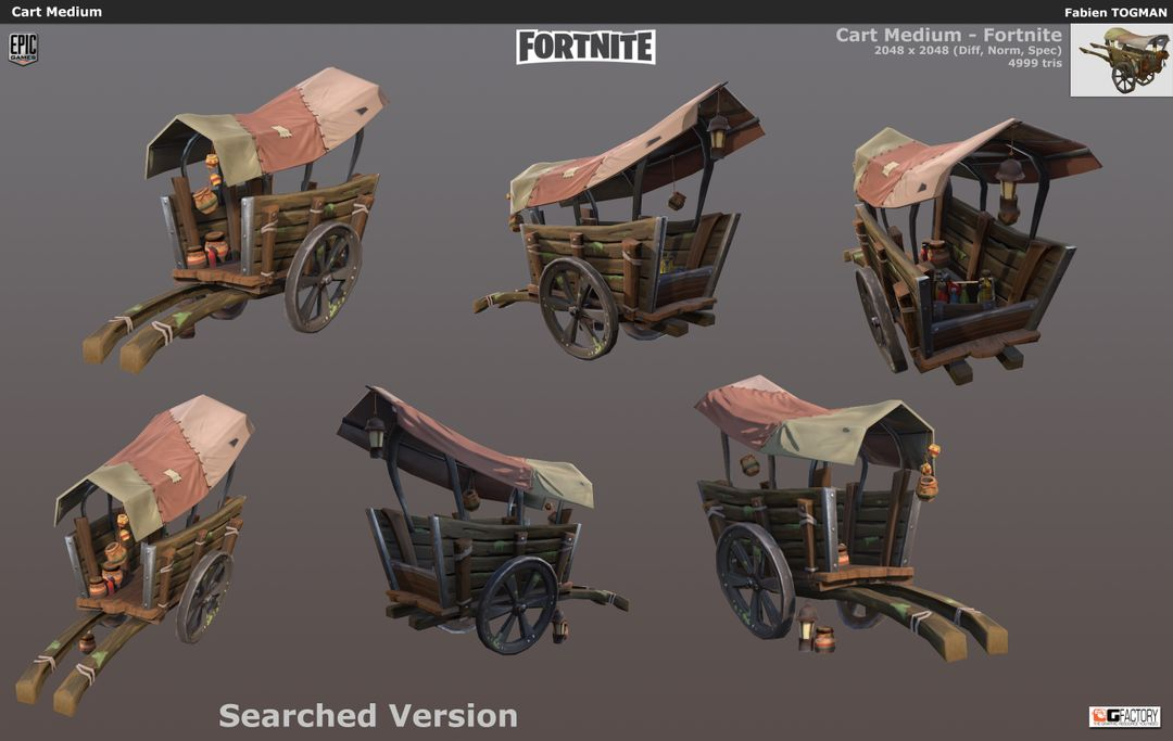 Fortnite Epic Fortnite CartMedium02 jpg