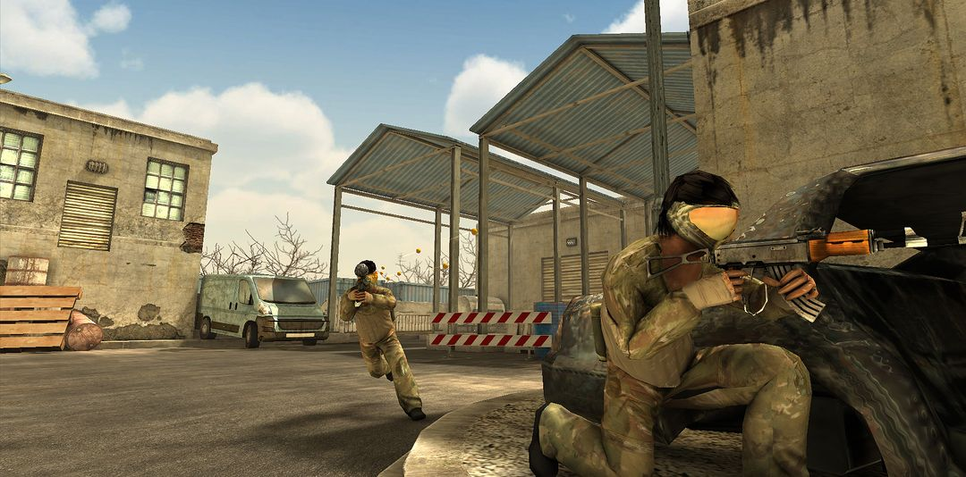 Xfield Paintball 3 mobile game XFP2 Factory04 jpg