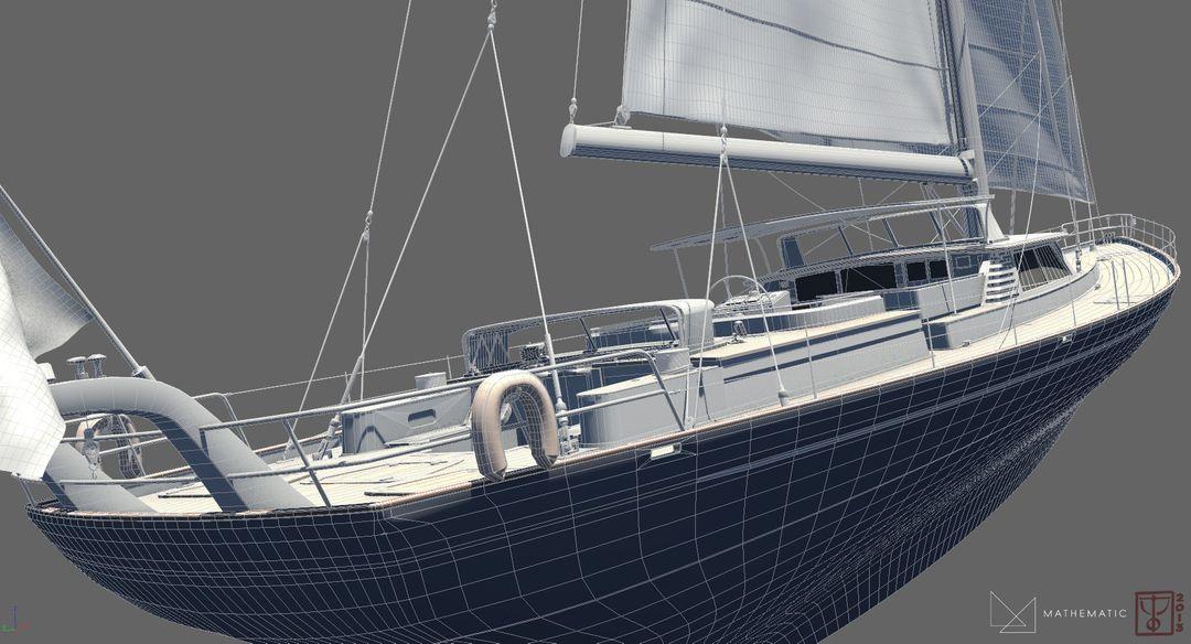 Boat modeling Voilier 01 jpg