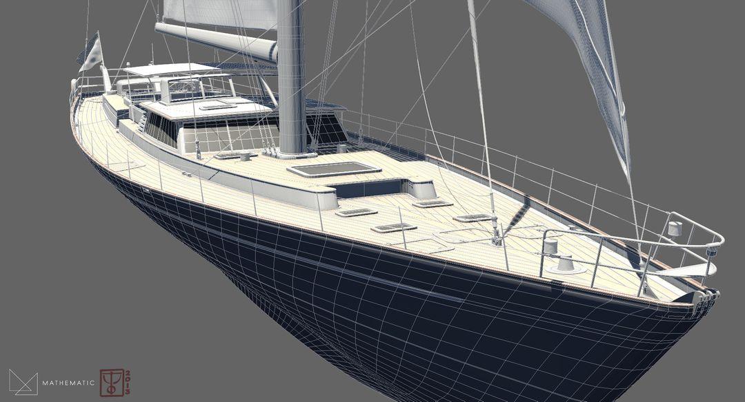 Boat modeling Voilier 02 jpg