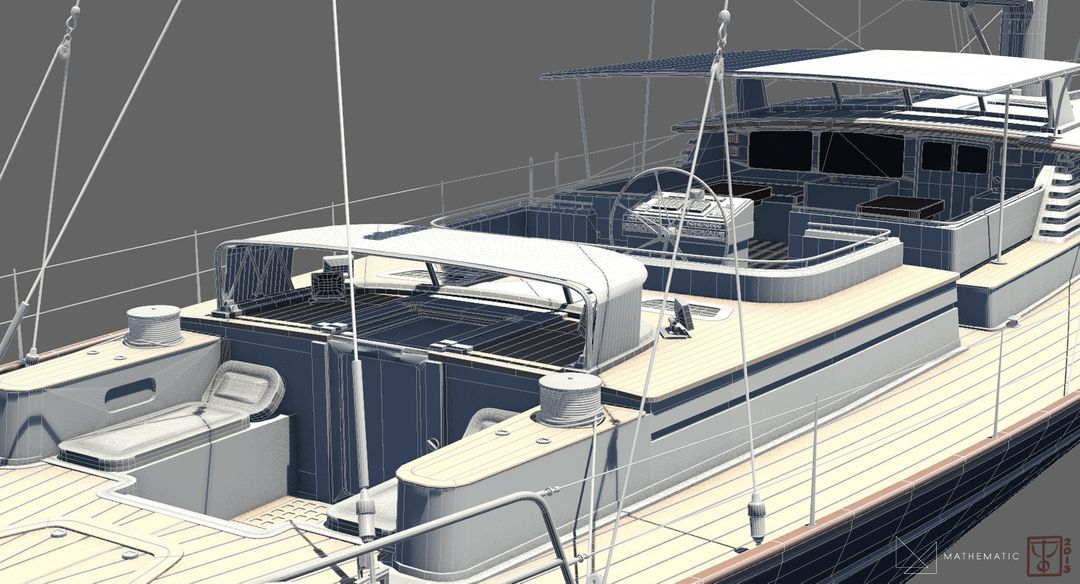 Boat modeling Voilier 03 jpg