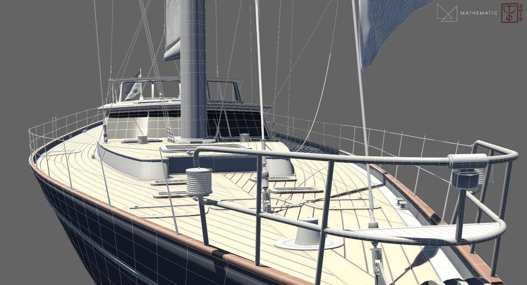 Boat modeling Voilier 05 jpg